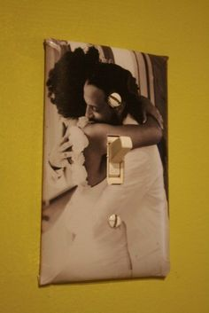 use photos to make custom switch plates - how cool!