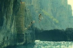 CLIFF JUMPING // literally the best