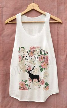 Dear Expecto Patronum Flowers Shirt Harry Potter by topsfreeday, $14.99----Christine wants this one