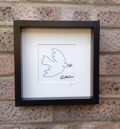 A personal favorite from my Etsy shop https://www.etsy.com/listing/237571459/picassos-dove-freehand-machine