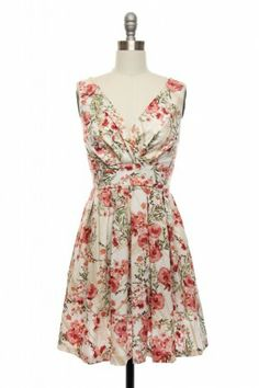 I've been wanting a pretty dress or two for this summer. Florals are always a smart choice