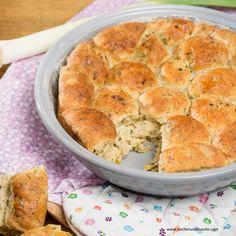 Erdäpfel-Speckbuchteln Apple Pie, Muffin, Breakfast, Desserts, Tasty, Souffle Dish, Play Dough, Side Dishes, Oven