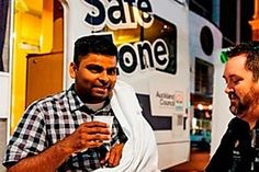 Aucklanders are encouraged to look out for the safe zone