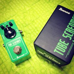 Tube Screamer Mini - I find this very friendly with dark pickups.