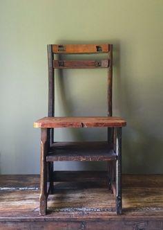 Library Chair, Ladder Decor, Home Decor, Decoration Home, Room Decor, Home Interior Design, Home Decoration, Interior Design