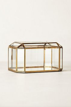Gilded Borders Jewelry Box - anthropologie.com (Hobby Lobby actually has these right now for half the price & much bigger)