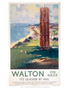 ESSEX - Walton on Naze - Railway - ENGLAND