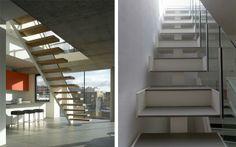 Decoración de escaleras voladas - Decofilia.com