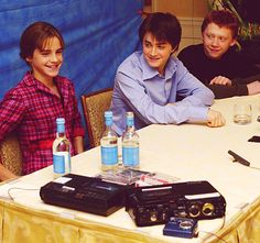 """""""As for who has the worst crush on her – me or Radcliffe – I'd rather not say.""""- Rupert Grint"""