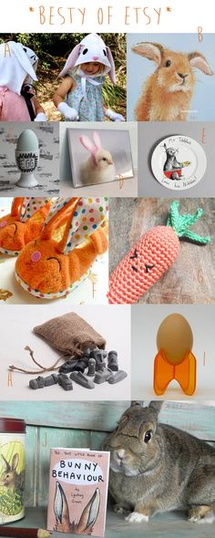 The Best of Etsy Kids: Handmade Easter Picks – March 2015