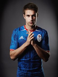 Aaron Ramsey  Country: Great Britain  Age: 21  Sport: Soccer  #olympics