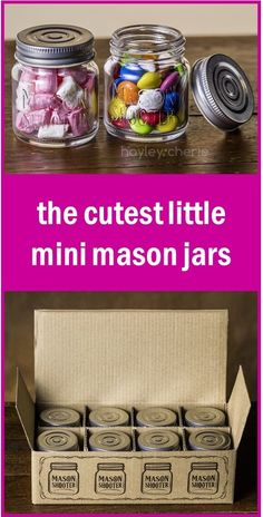 Aren't these the cutest little mini mason jars?!! Since they're GLASS and have LIDS, they're the perfect little (2 oz) size for gifting DIY essential oil projects like whipped body butters, sugar scrubs, natural deodorant, bath salts, salves, and more!! And even better than that, they're on SALE!! This is a great price for these high quality jars. I already have a stash of them because I use them so often, but I'm going to buy more to get ready Christmas gifts.