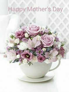 Free christian ecards email greeting cards online ill always cool gorgeous pink flowers in a giant teacup m4hsunfo