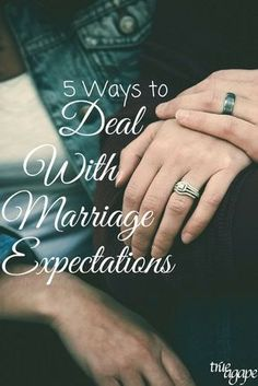 We all come into marriage with expectations. So how do we deal with these expectations in a healthy way? These 5 ways will support you in dealing with them. Get the best tips and how to have strong marriage/relationship here: Marriage Advice Quotes, Godly Marriage, Marriage Relationship, Happy Marriage, Relationships Love, Love And Marriage, Healthy Relationships, Strong Marriage, Successful Marriage