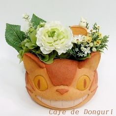 Cafe de Donguri | Rakuten Global Market: Neighbor totoro planter cat bus fs3gm which is delighted at