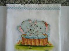 Resultado de imagem para desenho de dois elefantes para fraldas