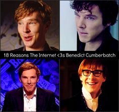 18 Reasons The Internet Loves Benedict Cumberbatch on BuzzFeed! Accurate BuzzFeed list is accurate.