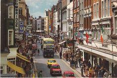 Old Dublin Photos - Old Dublin Town Ireland Pictures, Images Of Ireland, Old Pictures, Old Photos, Dublin Street, Dublin City, Visit Dublin, Grafton Street, Dublin Travel