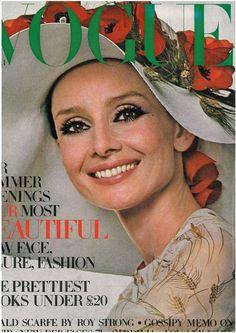 Audrey Hepburn - Vogue UK April 1971
