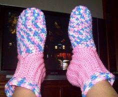 all free crochet slipper patterns Botas a6f69a2a965