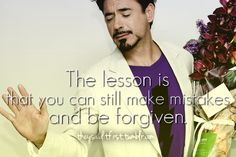 RDJ quotes! Gonna post some more RDJ just for u because I know how much u love my Robert downy jr. Board and how much u love all those RDJ pins I pin ;) @marvel geek :)