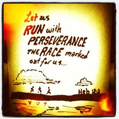 Keep running! Run harder.