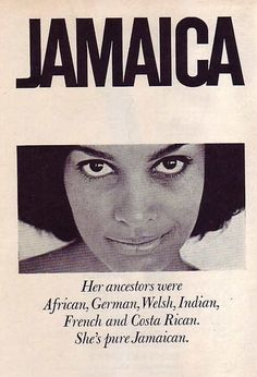 """img: Jamaican Tourist Board advert from """"Pleasure Island - The Book Of Jamaica"""" by Esther Chapman, 1958."""