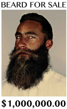 An Australian is selling his beard. | 19 Reasons Why This Epic Beard Is Worth $1 Million