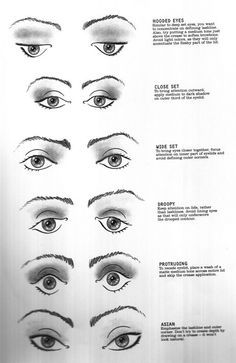 eye make up tips for your type of eyes Mac Makeup, Love Makeup, Skin Makeup, Makeup Art, Makeup Tips, Makeup Looks, Makeup Style, All Things Beauty, Beauty Make Up