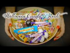 ASMR for Children✹Halloween Candy/Sweets - YouTube