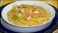 Espaguetis con gambas al ajillo | Cocinar en casa es facilisimo.com