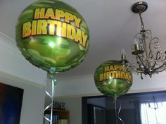 Call of Duty Party ideas - Balloons from www.balloonarray.co.uk