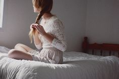 Window Girl - Hidden Faces in Photography