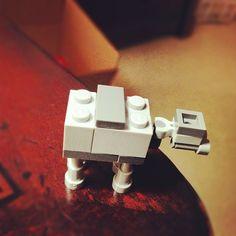 Minimalist Lego Star Wars AT-AT