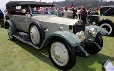 The Rolls-Royce Silver Ghost refers both to a car model and to one specific car from that series.