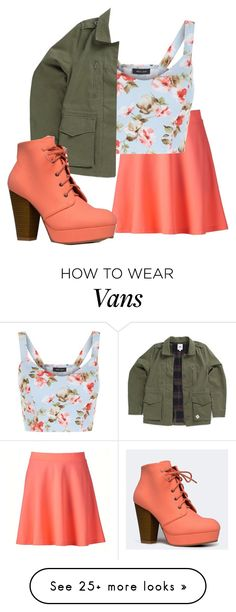 """""""Untitled #211"""" by lost-at-land on Polyvore featuring Apt. 9, New Look, Vans and Qupid"""