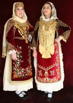 Folk Costume, Traditional Outfits, Greek Costumes, Greece, People, Clothes, Beautiful, Dresses, Art