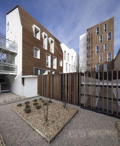 Galería de 16 unidades de vivienda social / Atelier Gemaile Rechak - 2
