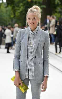 Gabriella Wilde Photos - Gabriella Wilde arrives at the Burberry Spring Summer 2013 Womenswear Show at Kensington Gardens on September 2012 in London, England. - Burberry Spring Summer 2013 Womenswear Show - Arrivals Gabriella Wilde, Dress For Success, Work Fashion, Modest Fashion, Gothic Fashion, Style Fashion, Casual Outfits, Cute Outfits, Mode Simple