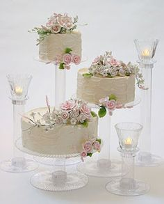 non tiered wedding cakes | ... diy cake instead of having a traditional wedding cake go for several