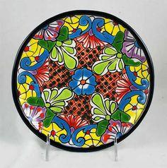 """Talavera Bread/Salad Plate - 8"""""""