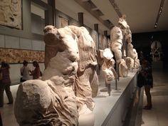 Acropolis Museum | private view | Sept 2012 Greek Art, Acropolis, Greece, Lion Sculpture, Museum, Statue, Friends, Greece Country, Amigos