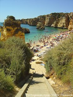 Dona Ana beach - Portugal