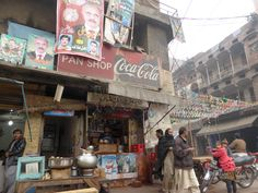 One of the more historic quarters of Lahore.