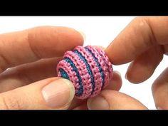 Как связать гвоздичку для слингобус (МК №4) // Crochet Carnation Flower for Necklace - YouTube