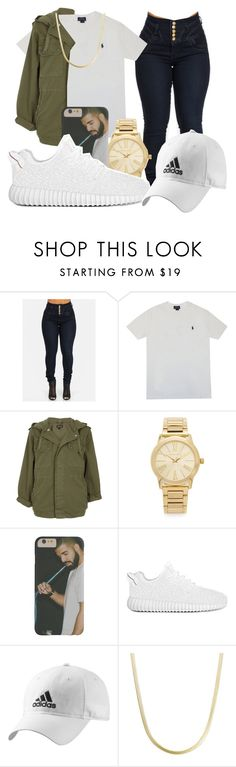 """Untitled #1046"" by dxrtysxriteqxeen ❤ liked on Polyvore featuring Polo Ralph Lauren, Topshop, Michael Kors, adidas, women's clothing, women, female, woman, misses and juniors"