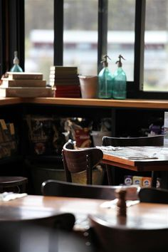 Enjoy a book with a great coffee at the Alpine Larder