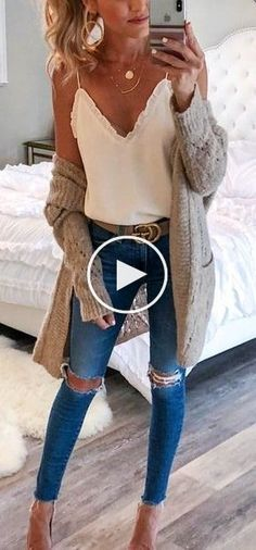 winter outfits cardigans schne Outfit-Ideen, u - winteroutfits Fashion Mode, Look Fashion, Winter Fashion, Fashion Outfits, Feminine Fashion, Latest Fashion, Trendy Fashion, Fashion Ideas, Fashion 2015