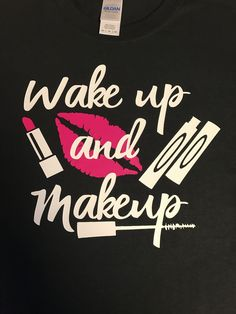 Please note your Font choice to Seller at Checkout. Font Choices: Black shirts- You may choose White, Pink, Lilac, Red or Yellow fonts White Shirts- You may choose Black, Pink, Lilac, Yellow or Red Fo