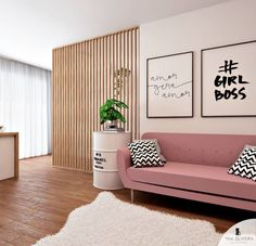 Commercial room design for an e-commerce that got incredible . Beauty Room Salon, Beauty Room Decor, Salon Interior Design, Interior Design Living Room, Home Living Room, Living Room Decor, Nail Designer, Home Office Decor, Home Decor